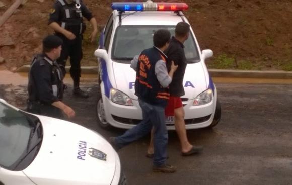 Procesados admitieron haber estado bebiendo alcohol y droga. Foto: F. Fernández.