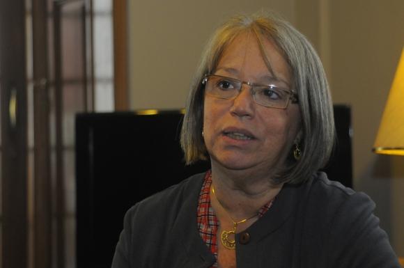 Mónica Xavier. Foto. L. Carreño