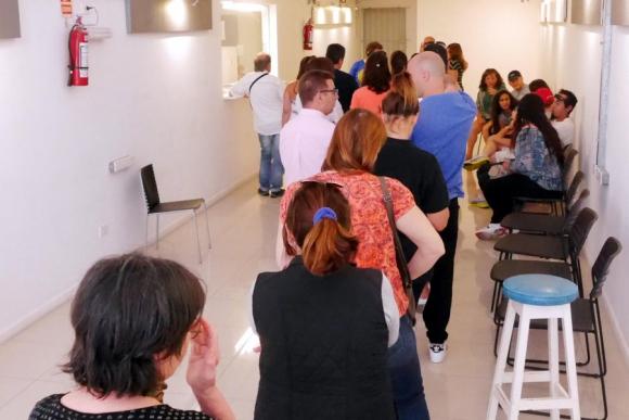 Elecciones argentinas en Maldonado. Foto: Ricardo Figueredo