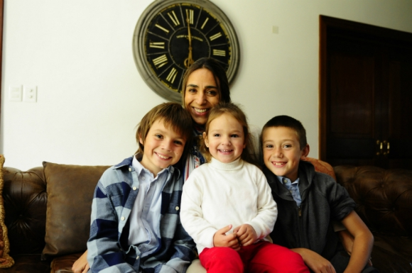 A Carolina Sierra sus hijos le han ayudado a ser más efectiva. Foto: Marcelo Bonjur