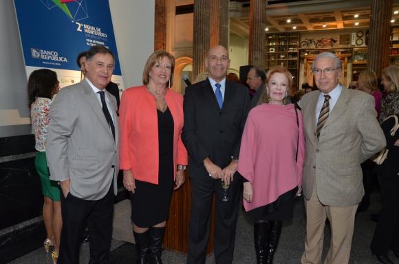 Roberto Palermo, María Julia Muñoz, Ricardo Murara, Laetitia d'Arenberg, Julio Porteiro.
