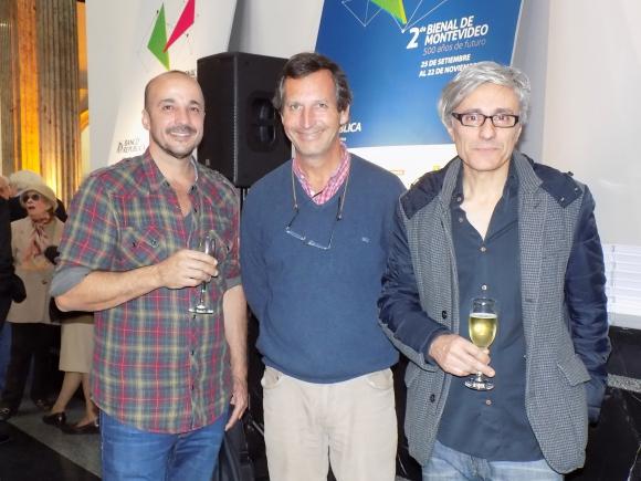 Diego Velazco, Carlos Guinovart, Javier Bassi.
