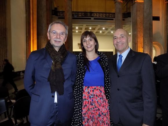 Gianfranco y Caterina Bonan, Ricardo Murara.