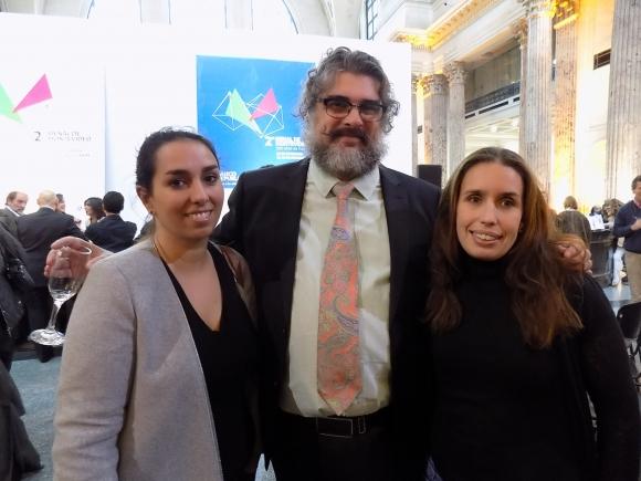 Laura Bardier, Santiago Tavella, Maru Vidal.