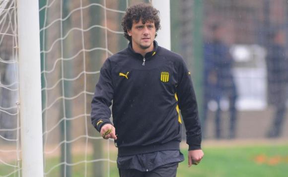 Aurinegro. A Aguirregaray le costó llegar al club y también volver. Foto: Archivo El País