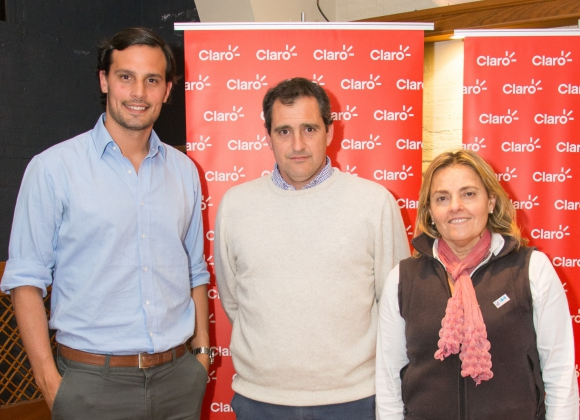 Bruno Quartara, Luis Maresca, Paola Guarino.