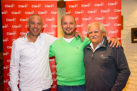 Pablo Barbachan, Matías Vernassa, Carlos Villarnovo.
