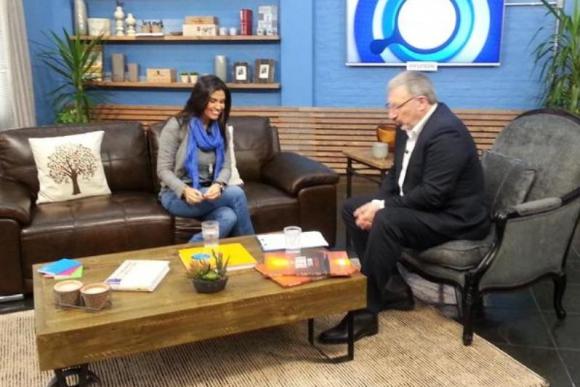 Verónica Alonso fue entrevistada por Gerardo Sotelo en A Diario.