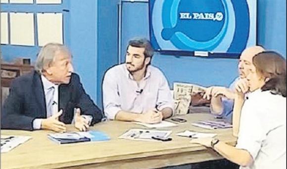 Edgar Welker visitó El País TV el pasado viernes.