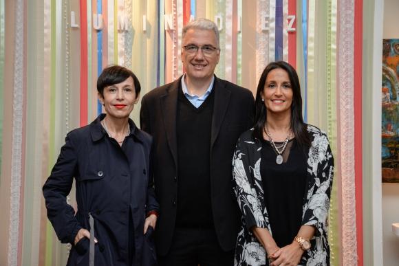 Ana Torrejon, Mauricio Oppenheimer, Claudia Haim.