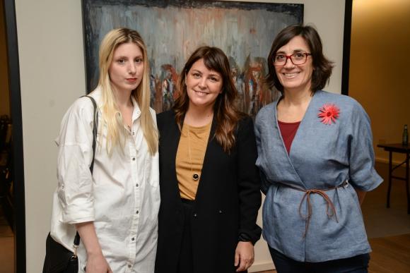 Florencia Domínguez, Rosario San Juan, Rossana Demarco.