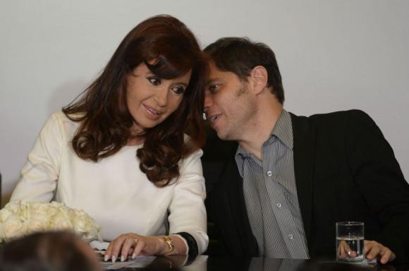 Cristina Fernández y axel Kicillof tendrán un año complicado. Foto: Archivo El País