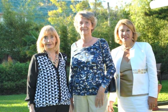 Teresita Aguerre, Myriam Steverlynck, Blanca Mazal.