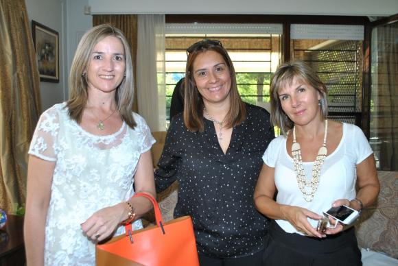 Milka Krsul, Marisa Franco, Mariana Abreu.