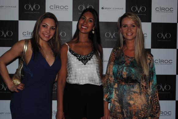 Claudia Sartori, Pamela Hermsdorff, Morgana Zanon.