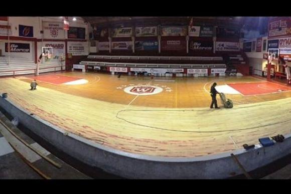 Welcome está haciendo obras en su gimnasio de cara a la Liga Uruguaya