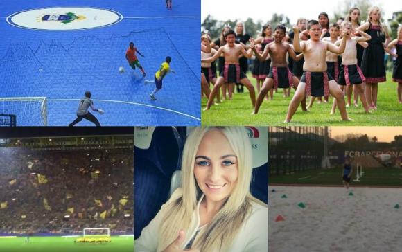 El lujo de Falcão, el campo del Barça, la hinchada del Dortmund y más