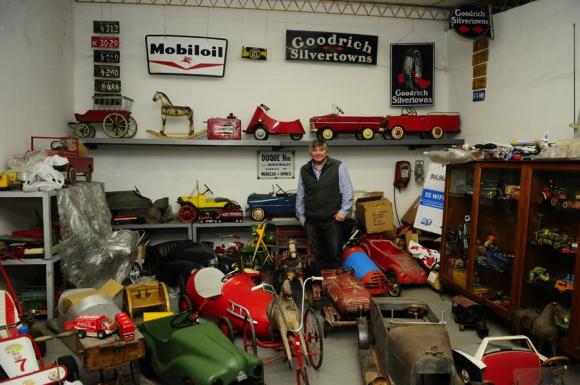 Exposición de juguetes antiguos. Foto: M. Bonjour