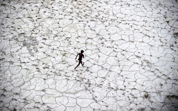 El impacto del cambio climático es notorio. Foto: AFP.
