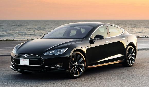 Model S. Tesla