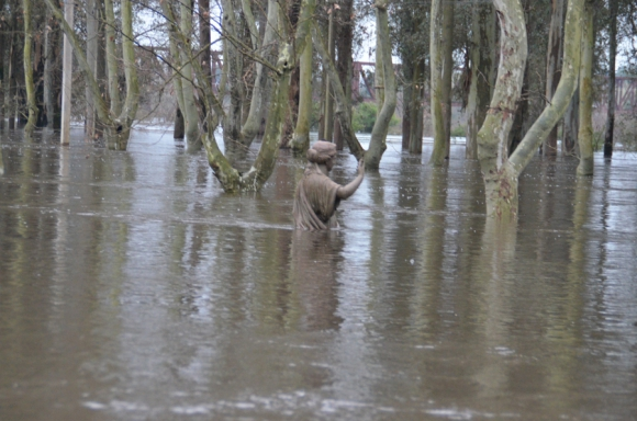 Inundaciones Durazno. Foto. Víctor Rodríguez