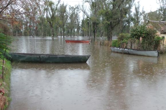 Inundaciones. Foto: Ricardo Figueredo