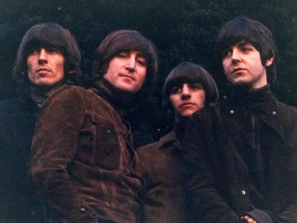 Los Beatles en la etapa del álbum Rubber Soul. Foto: Archivo.