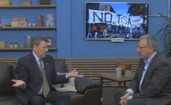 Rodolfo Nin Novoa en El País TV.