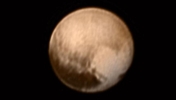 Plutón visto por la sonda New Horizons. Foto: Reuters