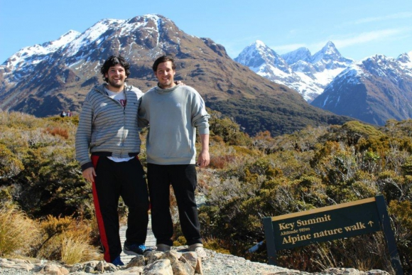 En el monte Key Summit, en Nueva Zelanda