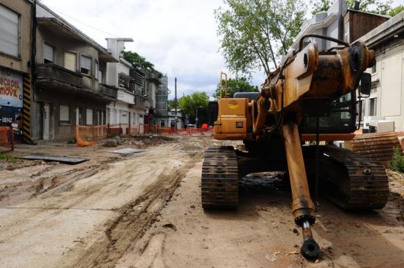 Las obras que quedaron estancadas perjudicaron a muchos vecinos. Foto: M.Bonjour.