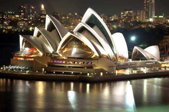 La Sala de Ópera de Sidney. (Foto Archivo El País)