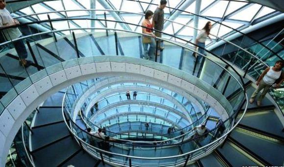 Edificio del ayuntamiento de Londres