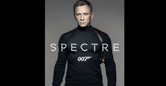 El poster de Spectre, de James Bond. Foto: MGM.