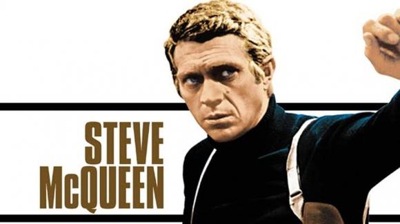 El actor Stevie McQueen en Bullitt.