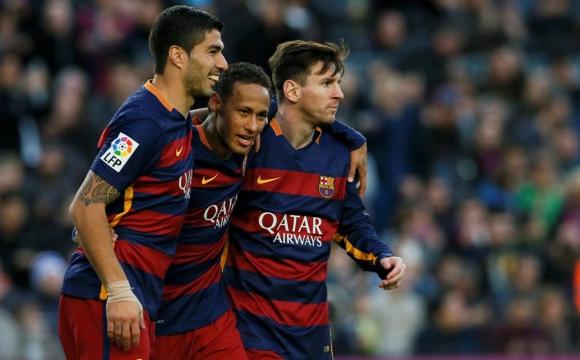 Luis Suarez Messi Neymar