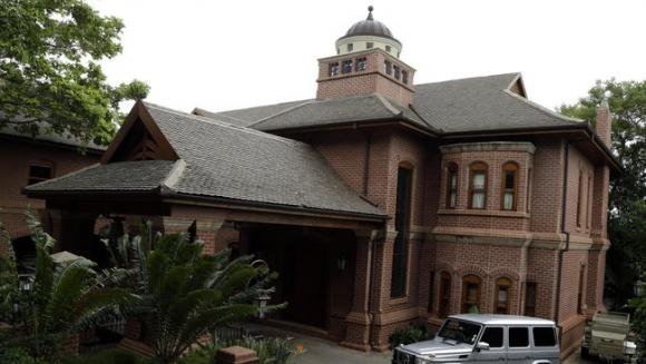 La mansión donde cumple la pena Pistorius