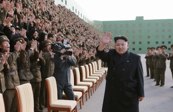 Kim Jong-un, líder de Corea del Norte. Foto: EFE