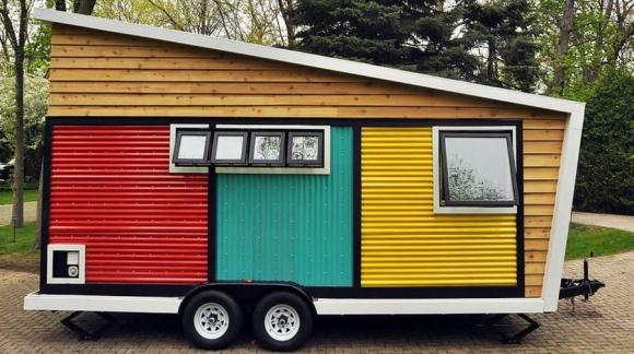 La casa se llama Toybox y la idea es brindar comodidad y contacto con la naturaleza. Foto: toyboxtinyhome.com