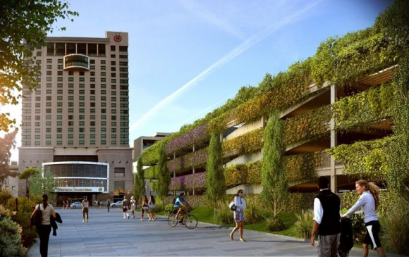 Parking tendrá jardines y peatonal estará conectada con Baliñas, que llega a la rambla.