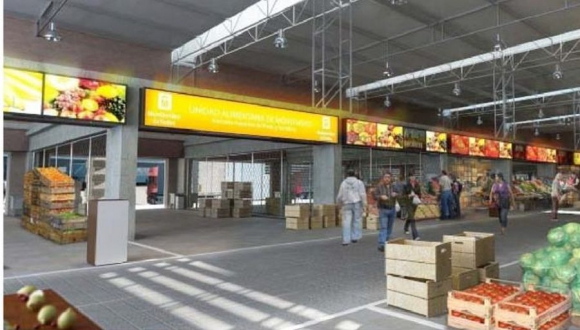 Proyecto Unidad Alimentaria de Montevideo. Foto: IMM.