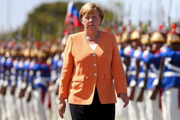 Angela Merkel en Brasil. Foto: Reuters.