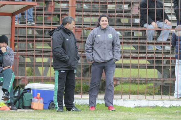 Doctora de Racing Club. Foto: Ariel Colmegna