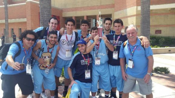 También en los deportes colectivos la delegación uruguaya tuvo buenas actuaciones. (Foto: Facebook)