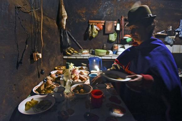 Día de los Muertos en Colombia. Foto: AFP