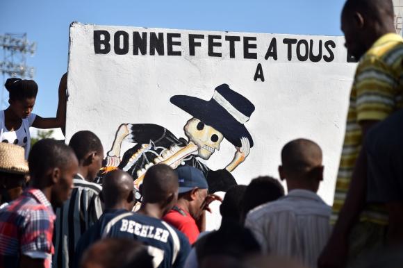 Día de los Muertos en Haití. Foto: AFP