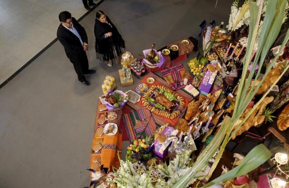 Día de los Muertos en Bolivia. Foto: Reuters