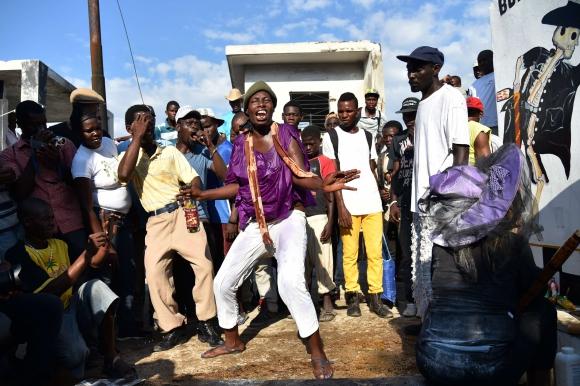 Día de los Muertos en Haití. Foto: Reuters