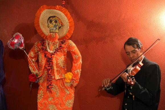 Día de los Muertos en México. Foto: Reuters