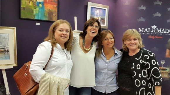 Laura Aris, Gabriela Cazabán, Marlene Díaz y Silvia García.